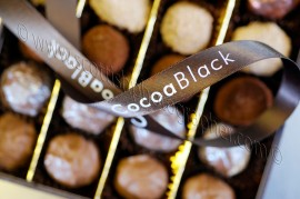 Cocoa Black, Peebles based chocolatier.