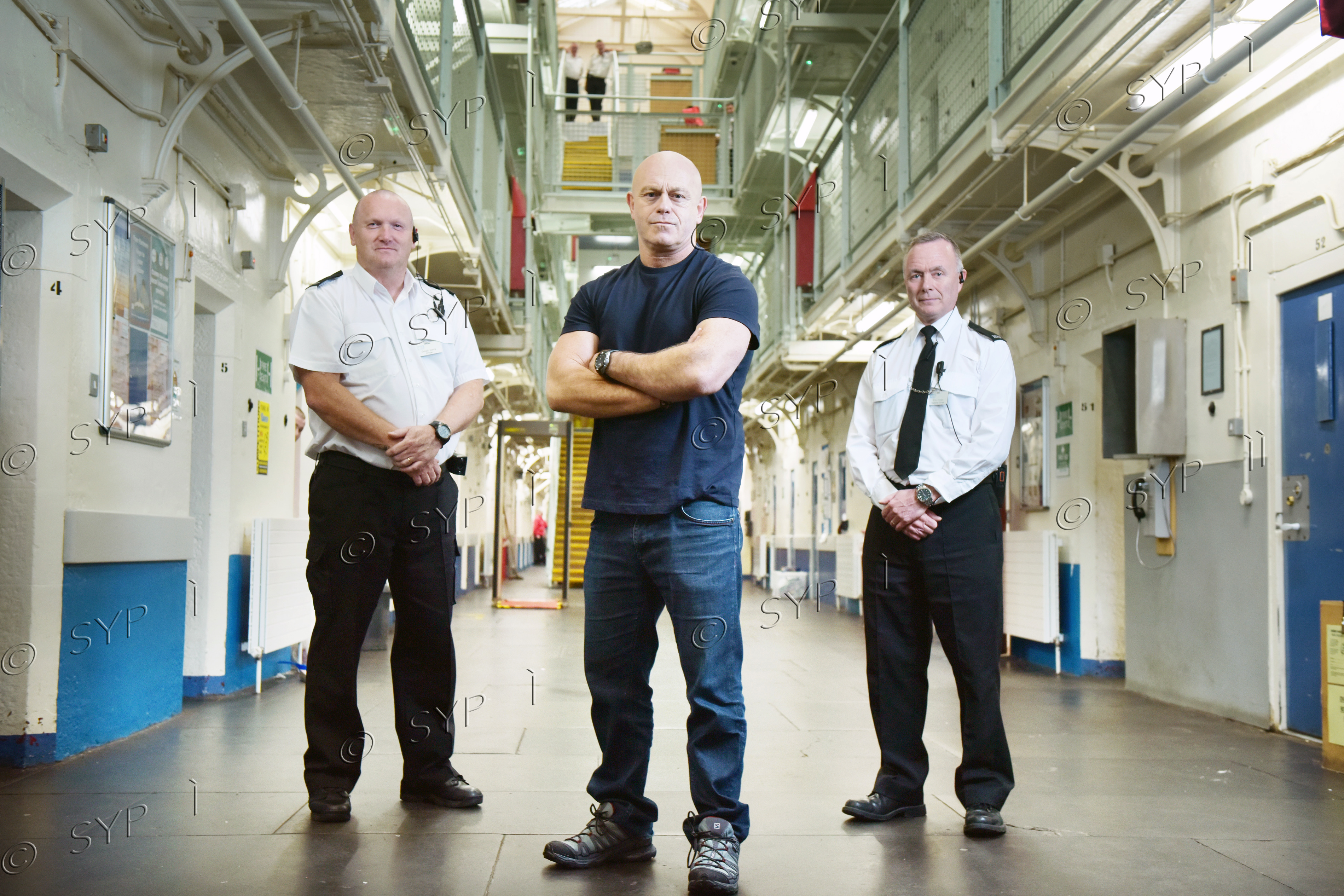 Ross Kemp in HM Prison Barlinnie,